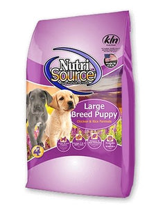 NutriSource Large Breed Puppy Chicken & Rice - Bakersfield Pet Food Delivery