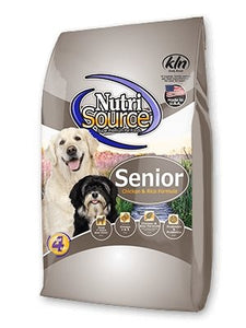 NutriSource Senior for Dogs - Bakersfield Pet Food Delivery
