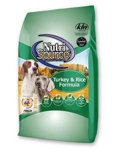 NutriSource Turkey & Rice for Dogs - Bakersfield Pet Food Delivery
