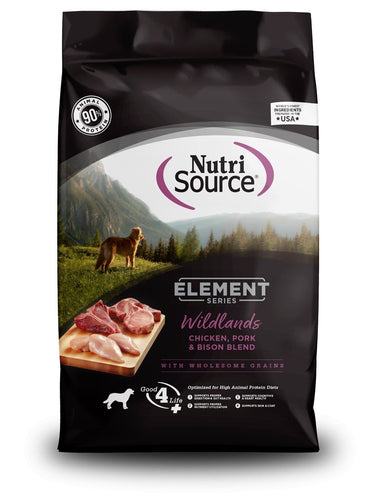 NutriSource Wildlands Recipe for Dogs - Bakersfield Pet Food Delivery