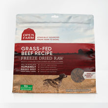 Load image into Gallery viewer, Open Farm Grass-Fed Beef Freeze Dried Raw Dog Food 13.5oz - Bakersfield Pet Food Delivery