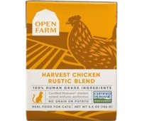 Open Farm Harvest Chicken Rustic Blend Wet Cat Food 5.5oz - Bakersfield Pet Food Delivery