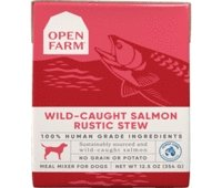 Open Farm Harvest Wild-Caught Salmon Rustic Blend Wet Cat Food 5.5oz - Bakersfield Pet Food Delivery