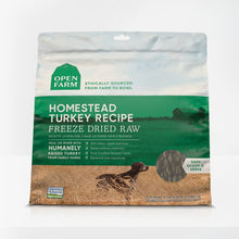 Load image into Gallery viewer, Open Farm Homestead Turkey Freeze Dried Raw Dog Food 13.5oz - Bakersfield Pet Food Delivery
