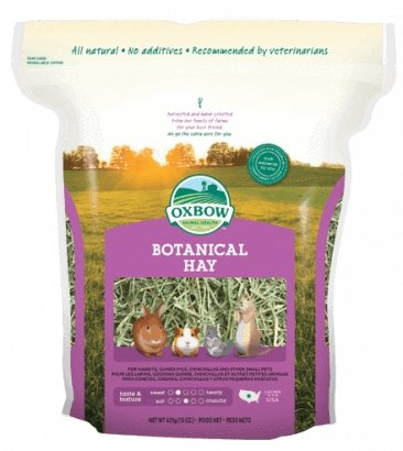 Oxbow Botanical Hay 15oz - Bakersfield Pet Food Delivery