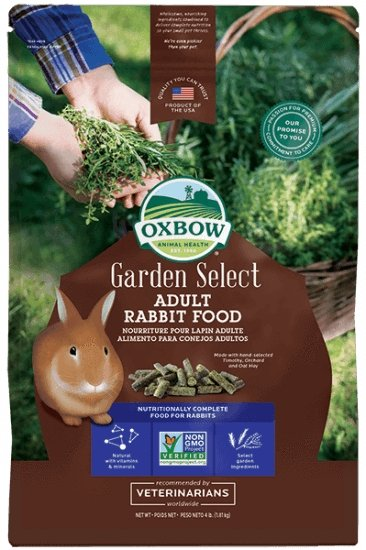 Oxbow Garden Select Adult Rabbit - Bakersfield Pet Food Delivery