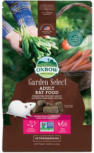 Oxbow Garden Select Adult Rat Food 2.5lb - Bakersfield Pet Food Delivery