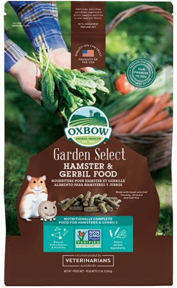 Oxbow Garden Select Hamster & Gerbil Food 1.5lb - Bakersfield Pet Food Delivery