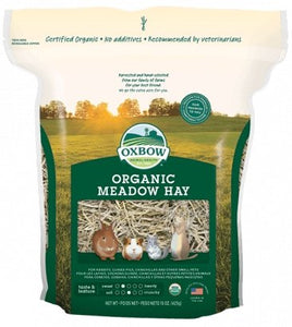 Oxbow Organic Meadow Hay 15oz - Bakersfield Pet Food Delivery