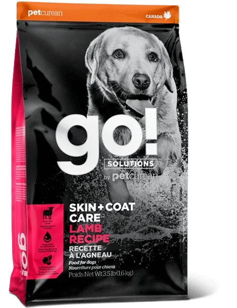 Petcurean Go! Solutions Skin + Coat Care Lamb Recipe - Bakersfield Pet Food Delivery
