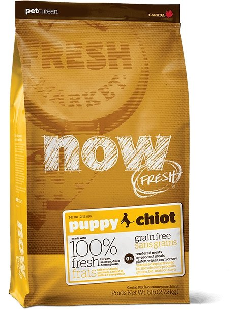Petcurean NOW! Fresh Grain-Free Puppy Recipe - Bakersfield Pet Food Delivery