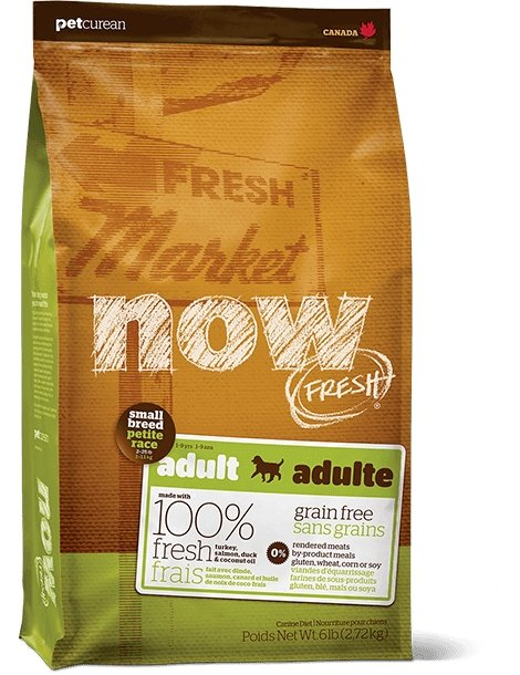 Petcurean NOW! Fresh Grain-Free Small Breed Adult Recipe - Bakersfield Pet Food Delivery