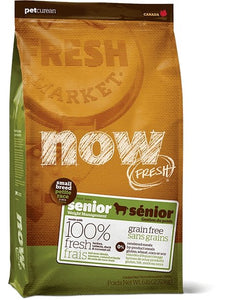 Petcurean NOW! Fresh Grain-Free Small Breed Senior Recipe - Bakersfield Pet Food Delivery