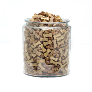 Polka Dog Bulk Dehydrated Duck Biscuits - Bakersfield Pet Food Delivery