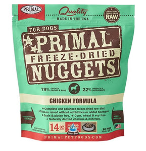 Primal Raw Freeze-Dried Chicken Formula - Bakersfield Pet Food Delivery