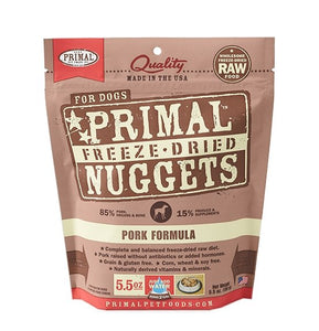 Primal Raw Freeze-Dried Pork Formula - Bakersfield Pet Food Delivery