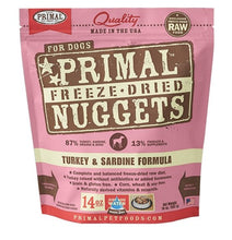 Load image into Gallery viewer, Primal Raw Freeze-Dried Turkey & Sardine Formula - Bakersfield Pet Food Delivery