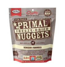 Load image into Gallery viewer, Primal Raw Freeze-Dried Venison Formula - Bakersfield Pet Food Delivery