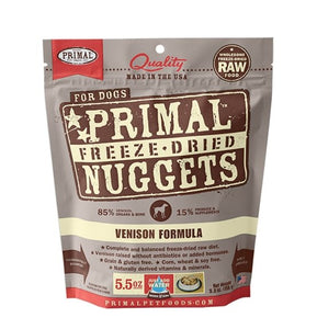Primal Raw Freeze-Dried Venison Formula - Bakersfield Pet Food Delivery