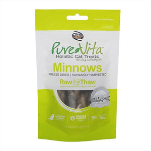 Pure Vita Freeze-Dried Minnows .05oz - Bakersfield Pet Food Delivery