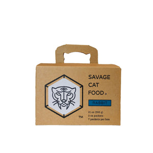 Savage Cat Rabbit - Bakersfield Pet Food Delivery