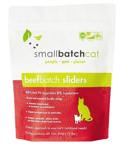 Smallbatch Cat Frozen Beef 3lb - Bakersfield Pet Food Delivery
