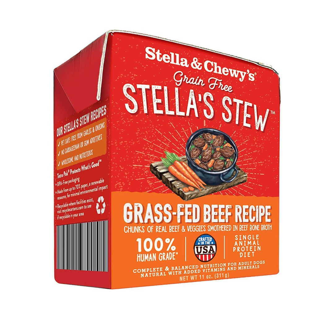 Stella & Chewy's Grass-Fed Beef Stew 11oz - Bakersfield Pet Food Delivery