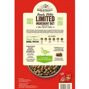 Stella & Chewy's Raw Coated Limited Ingredient Cage-Free Duck - Bakersfield Pet Food Delivery