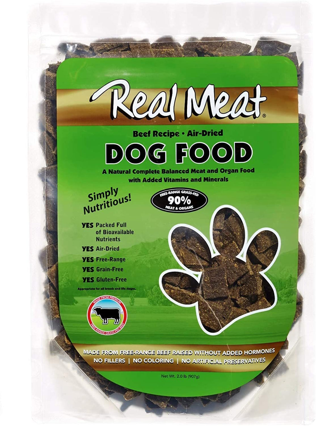 The Real Meat Company Jerky Beef Recipe - Bakersfield Pet Food Delivery