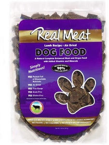The Real Meat Company Jerky Lamb Recipe - Bakersfield Pet Food Delivery