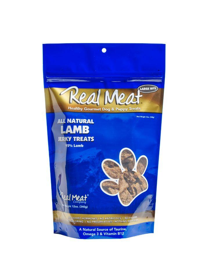 The Real Meat Company Lamb Jerky Treat - Bakersfield Pet Food Delivery