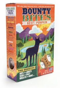 Wild Meadow Bounty Bites Beef & Pumpkin Biscuits 8oz - Bakersfield Pet Food Delivery