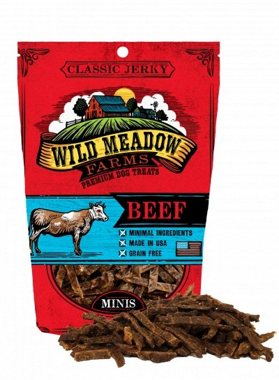 Wild Meadow Classic Beef Minis 4oz - Bakersfield Pet Food Delivery