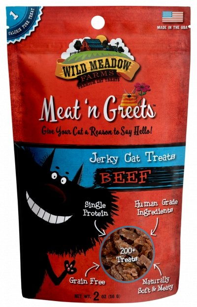 Wild Meadow Meat 'N Greets Beef 2oz - Bakersfield Pet Food Delivery
