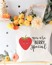 Load image into Gallery viewer, You Are Berry Special Cotton Canvas Tote Bag