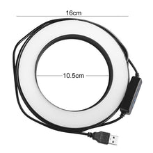 Load image into Gallery viewer, 9CM/16CM LED Ring Light Set Dimmable