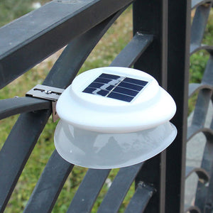 9LED Waterproof Solar Light Fence Lamp Eaves