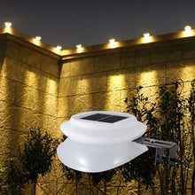 Load image into Gallery viewer, 9LED Waterproof Solar Light Fence Lamp Eaves