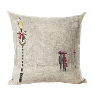 Christmas Pillow Case Car Sofa Waist Throw Cushion