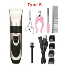 Load image into Gallery viewer, Electrical Pet Hair Trimmer Rechargeable Pet Dog Cat Low noise Hair