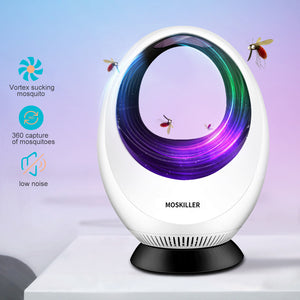 Electronic USB Mosquito Killer Lamp Strong Fan