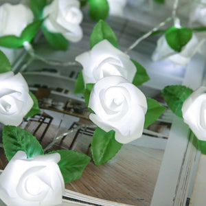 Rose LED Window Curtain Lights String