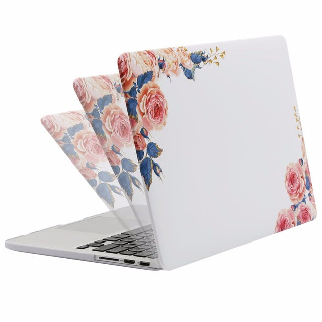 3 in 1 Laptop Sleeve Cover Case for Macbook