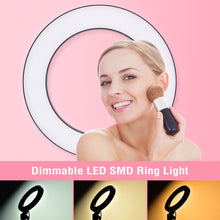 Load image into Gallery viewer, Video Studio Photography Dimmable Ring Light