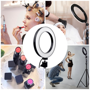 Video Studio Photography Dimmable Ring Light
