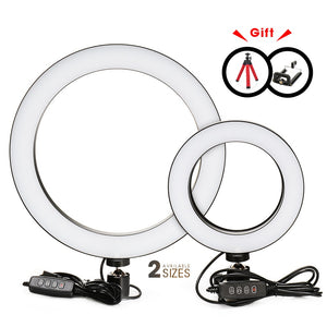 Photography LED Selfie Ring Light 16/26cm