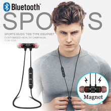 Load image into Gallery viewer, Wireless Bluetooth 4.0 Headset Sports Black