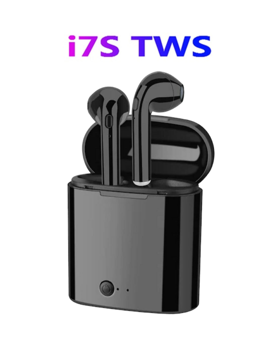 i7 TWS Wireless Earpiece Bluetooth 5.0 - Black Color
