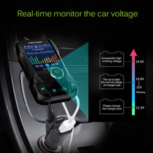 Load image into Gallery viewer, Bluetooth FM Transmitter for Cars Bluetooth V3.0