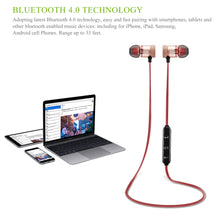 Load image into Gallery viewer, Wireless Bluetooth 4.0 Headset Sports Earphones